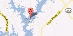 Jackson Georgia - Jackson georgia map